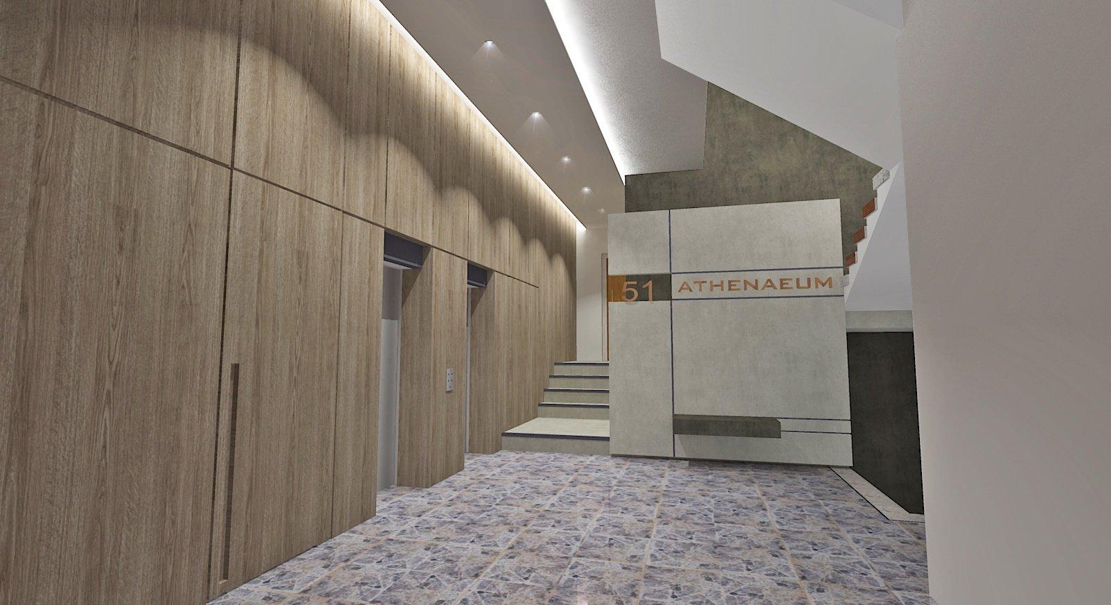Praxis Designs Athenaeum Apartment Amathus Lobby Limassol 1