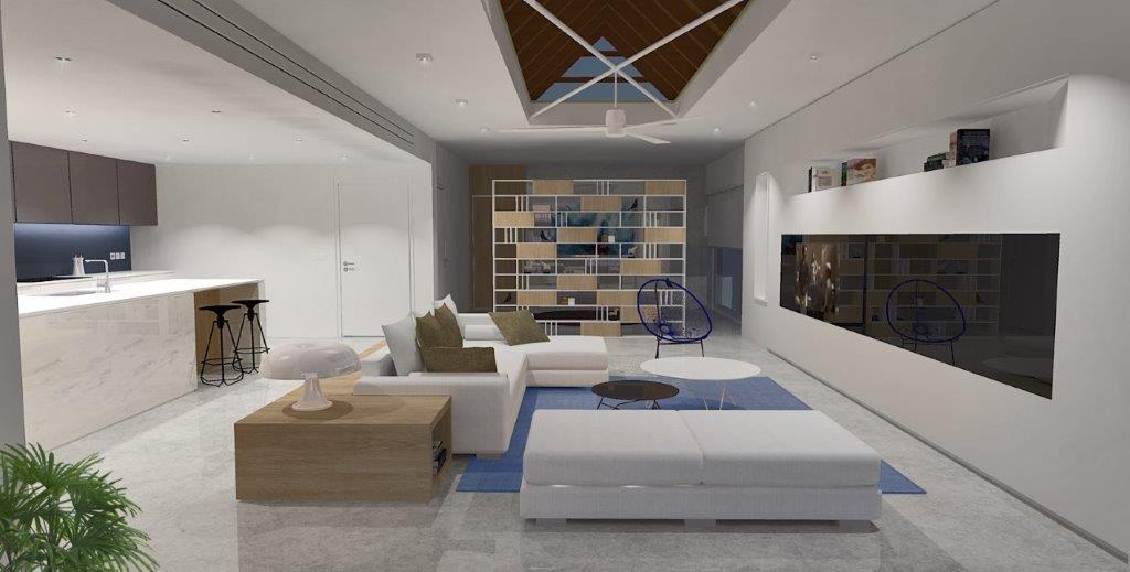 Praxis Designs Penthouse Renovation 1