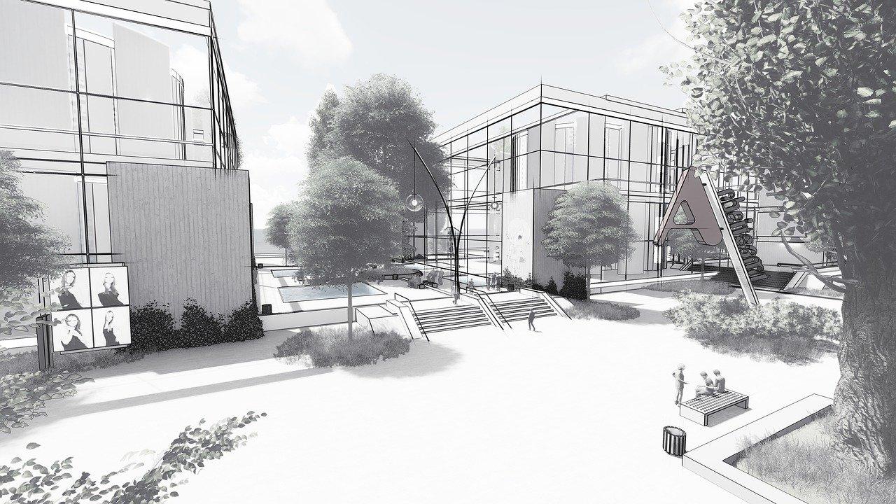 architecture employment office building 3125881